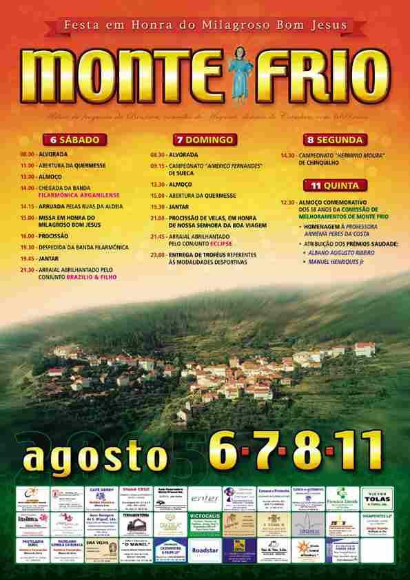 Cartaz da festa de 2005