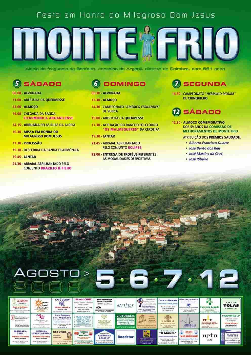 Cartaz da festa de 2006