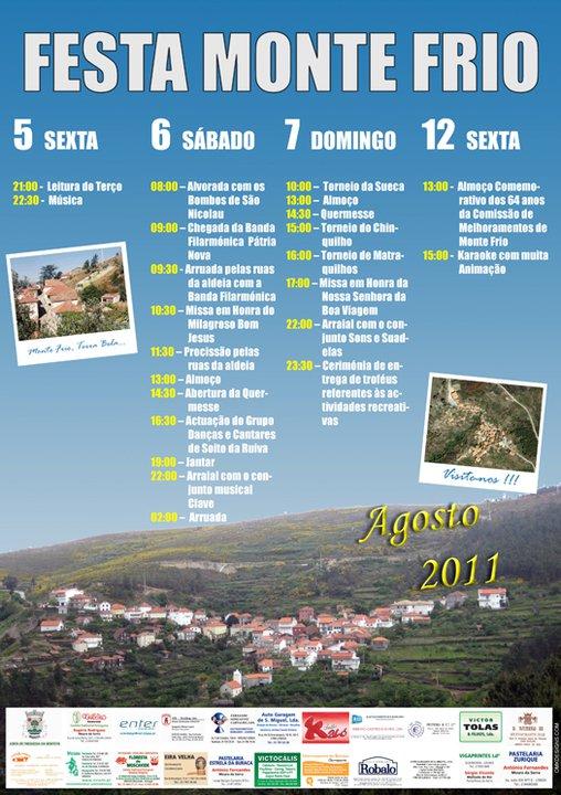 Cartaz da festa de 2011