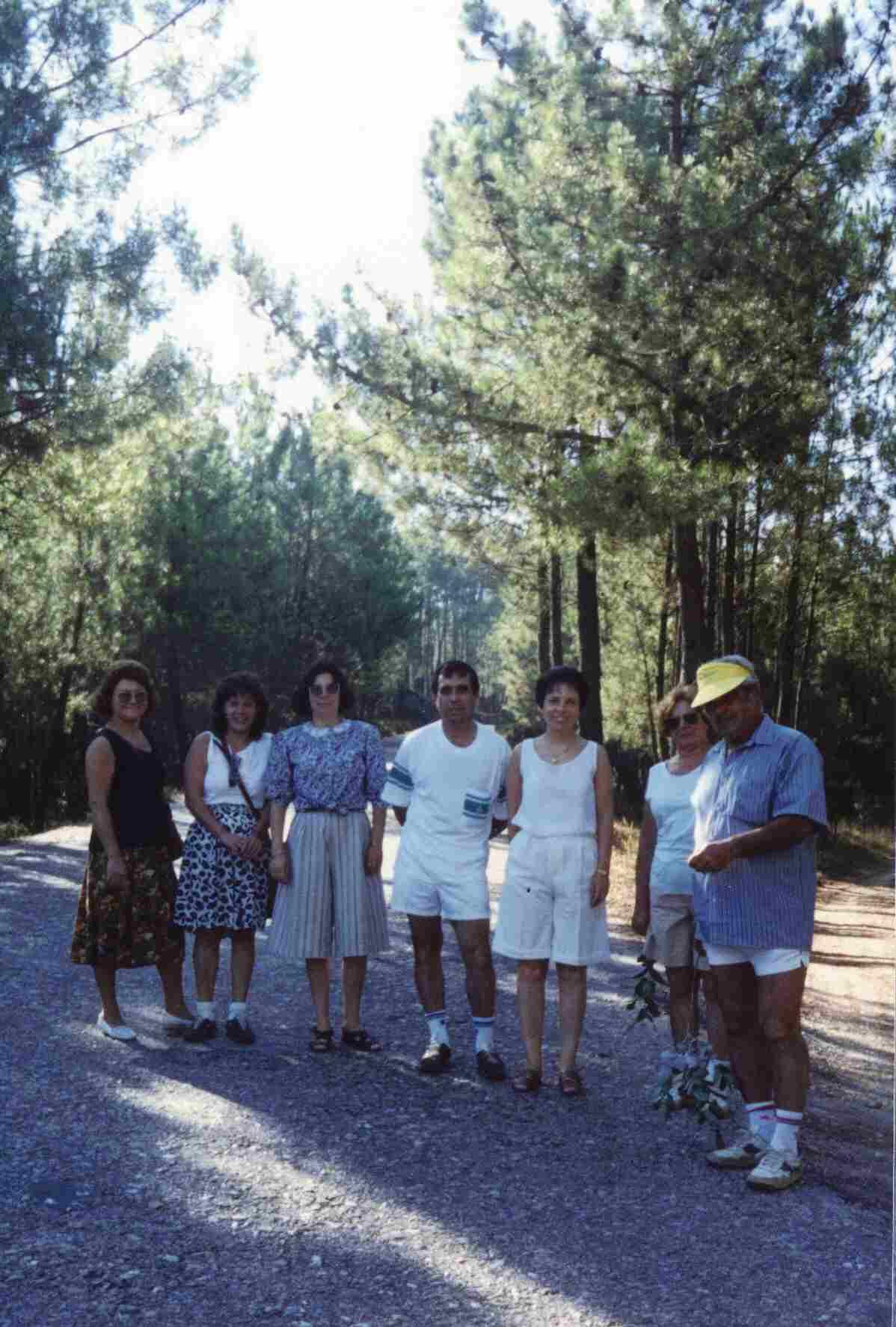 Passeio anual Monte Frio-Côja em Agosto de 1990