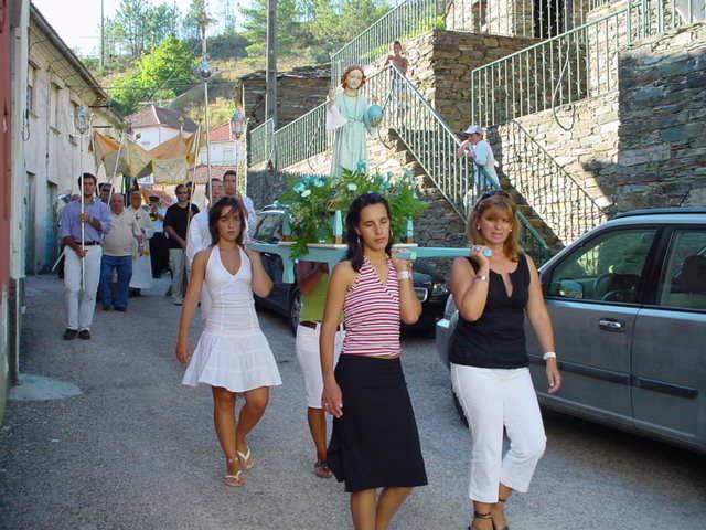 Procissão no Monte Frio no Sábado, 5 de Agosto de 2006