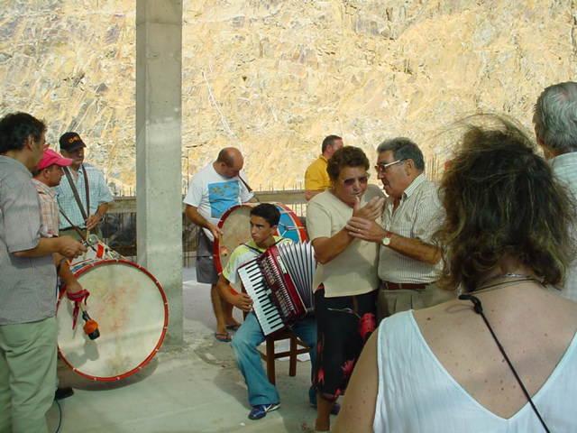 Almoço comemorativo dos 59 anos da Comissão de Melhoramentos de Monte Frio no Monte Frio no Sábado, 12 de Agosto de 2006