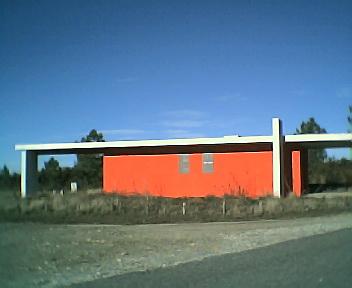 Casa abrigo ao cimo do Enxudro no caminho que vai para a Deguimbra na Segunda-feira, 12 de Dezembro de 2005