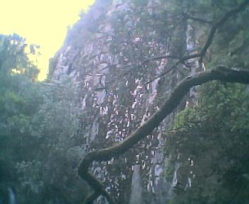 Acidente geológico na Fraga da Pena na Quarta-feira, 24 de Maio de 2006