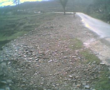 Alargamento da estrada municipal do Seixal ao Outeiro, na Sexta-feira, 17 de Março de 2006