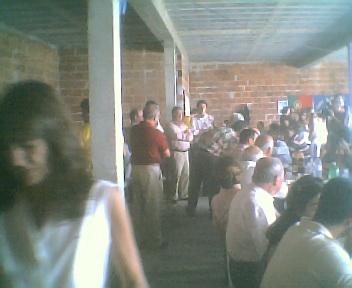 Discurso antes de começar o almoço no Sábado, 11 de Agosto de 2007