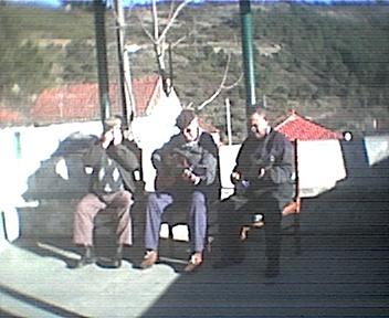 Animação no Coreto do Monte Frio, com Américo, Luciano e Arlindo na Quarta-feira, 17 de Dezembro de 2008