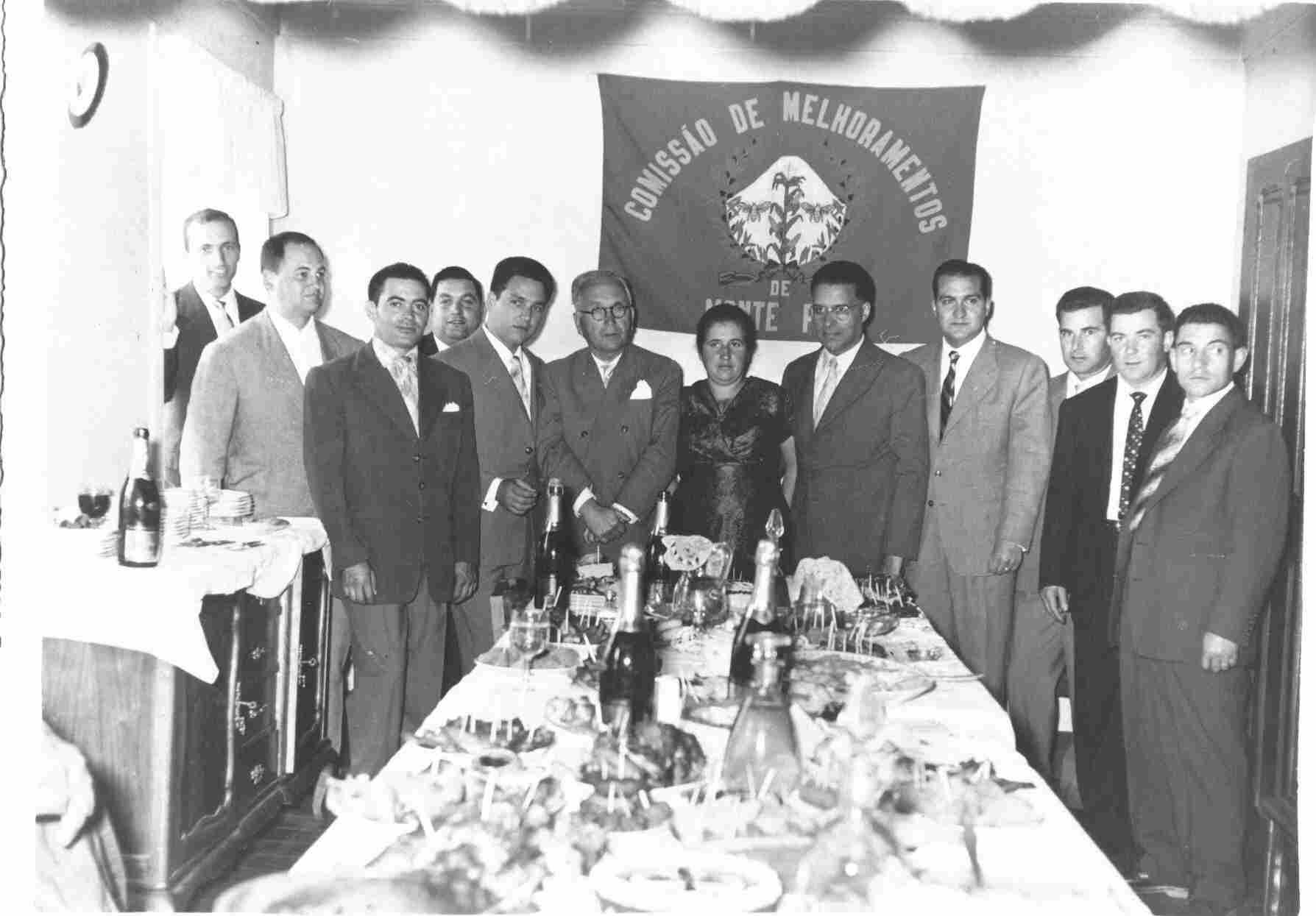 Banquete da Comissão de Melhoramentos na Sexta-feira, 12 de Agosto de 1960