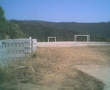 Zona de lazer na escola na Sexta-feira, 10 de Agosto de 2007