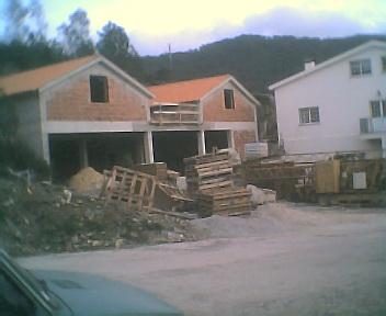 Obras de ampliação do Centro de Convívio e da construção de uma zona de lazer, na Sexta-feira, 1 de Dezembro de 2006