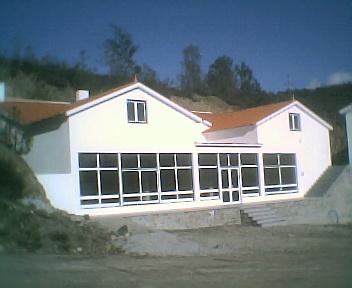 Obras da Casa de Apoio, no Sábado, 7 de Abril de 2007