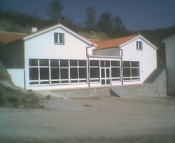 Obras da Casa de Apoio, no Sábado, 14 de Abril de 2007
