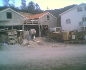 Obras de ampliação do Centro de Convívio e da construção de uma zona de lazer, no Sábado, 16 de Dezembro de 2006