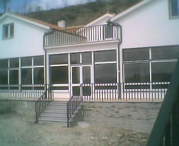 Obras da Casa de Apoio, no Sábado, 26 de Maio de 2007