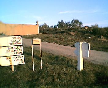 Caixa do correio do cemitério do Monte Frio no Sábado, 1 de Janeiro de 2005