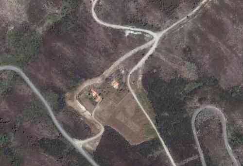 Vista aérea da Chã do Valado em 2005/2006