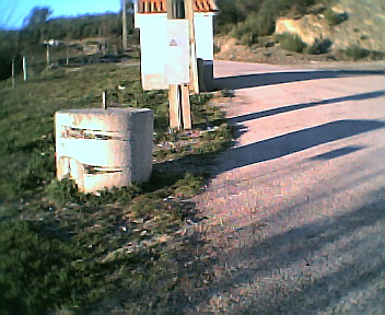 Cilindro de macadame na 6ªfeira, 31 de Dezembro de 2004
