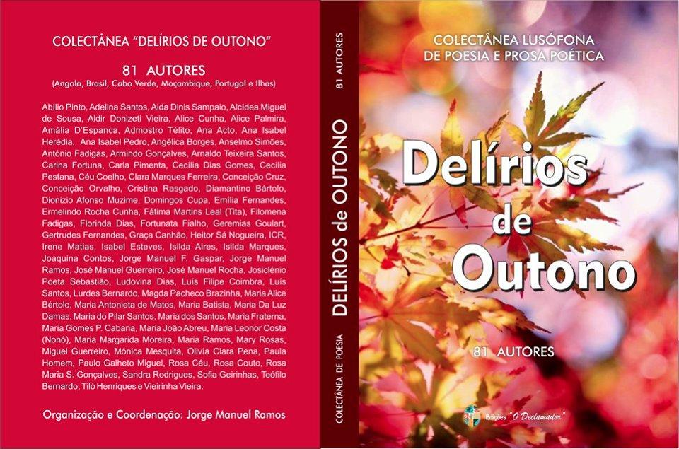 Livro 'Delírios de Outono - Colectânea lusófona de Poesia e Prosa Poética' de 81 autores