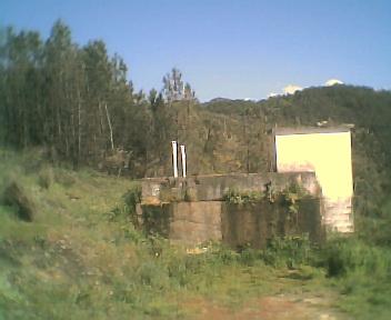 Depósito principal de captação de água dos lençóis freáticos no Domingo, 30 de Abril de 2006