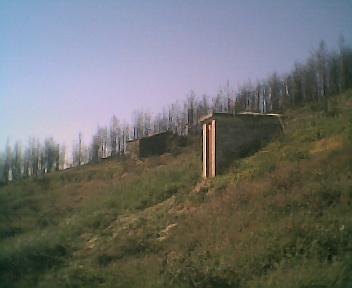 Antigo depósito principal de captação de água dos lençóis freáticos no Domingo, 30 de Abril de 2006