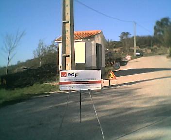 Obras da EDP na Quinta-feira, 15 de Dezembro de 2005