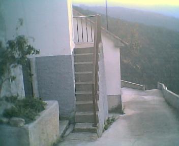 Escadas para a torre da Capela no Domingo, 11 de Dezembro de 2005