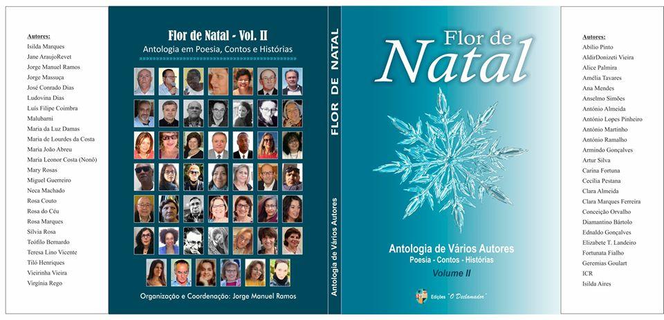 Livro 'Flor de Natal - Antologia de Vários Autores - Poesia-Contos-Histórias - Volume II' de 48 autores