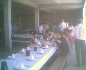 Almoço da Comissão de Melhoramentos de Monte Frio na Terça-feira, 14 de Agosto de 2007
