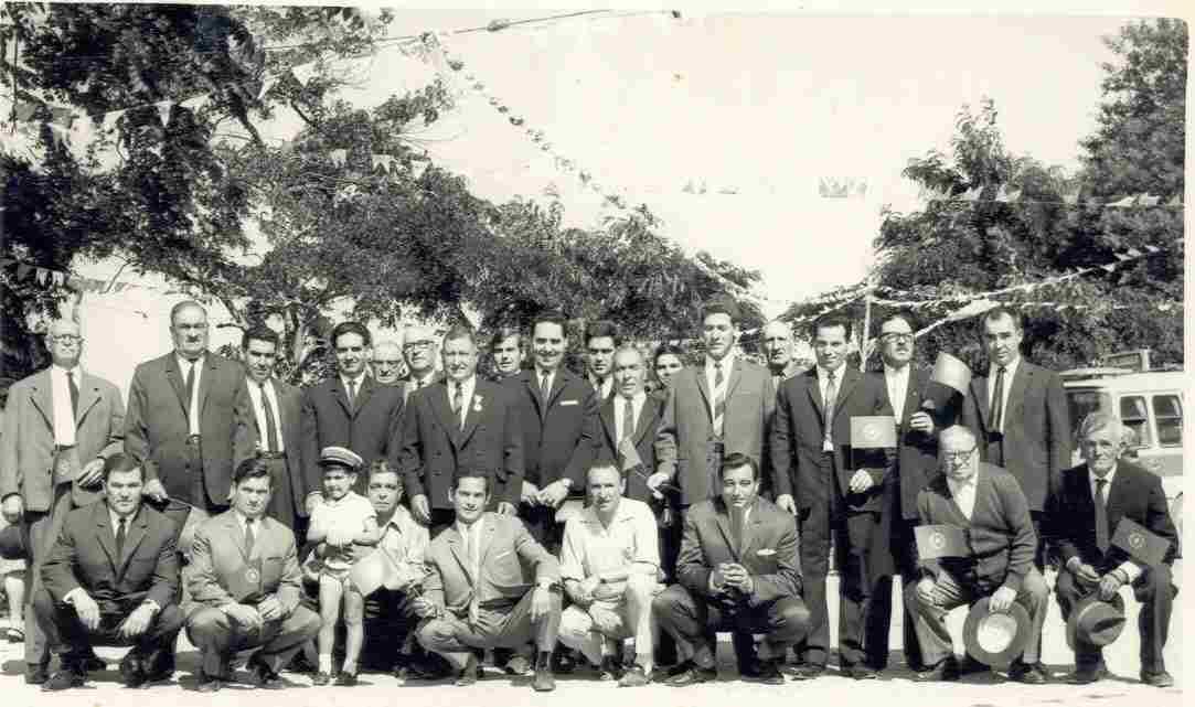 Inauguração da electrificação do Monte Frio no Domingo, 11 de Agosto de 1968