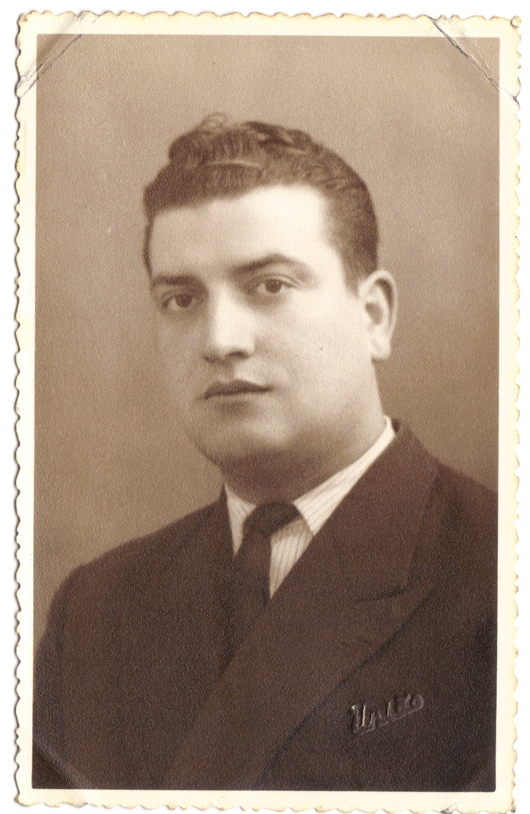 José Augusto Pimenta em idade adulta