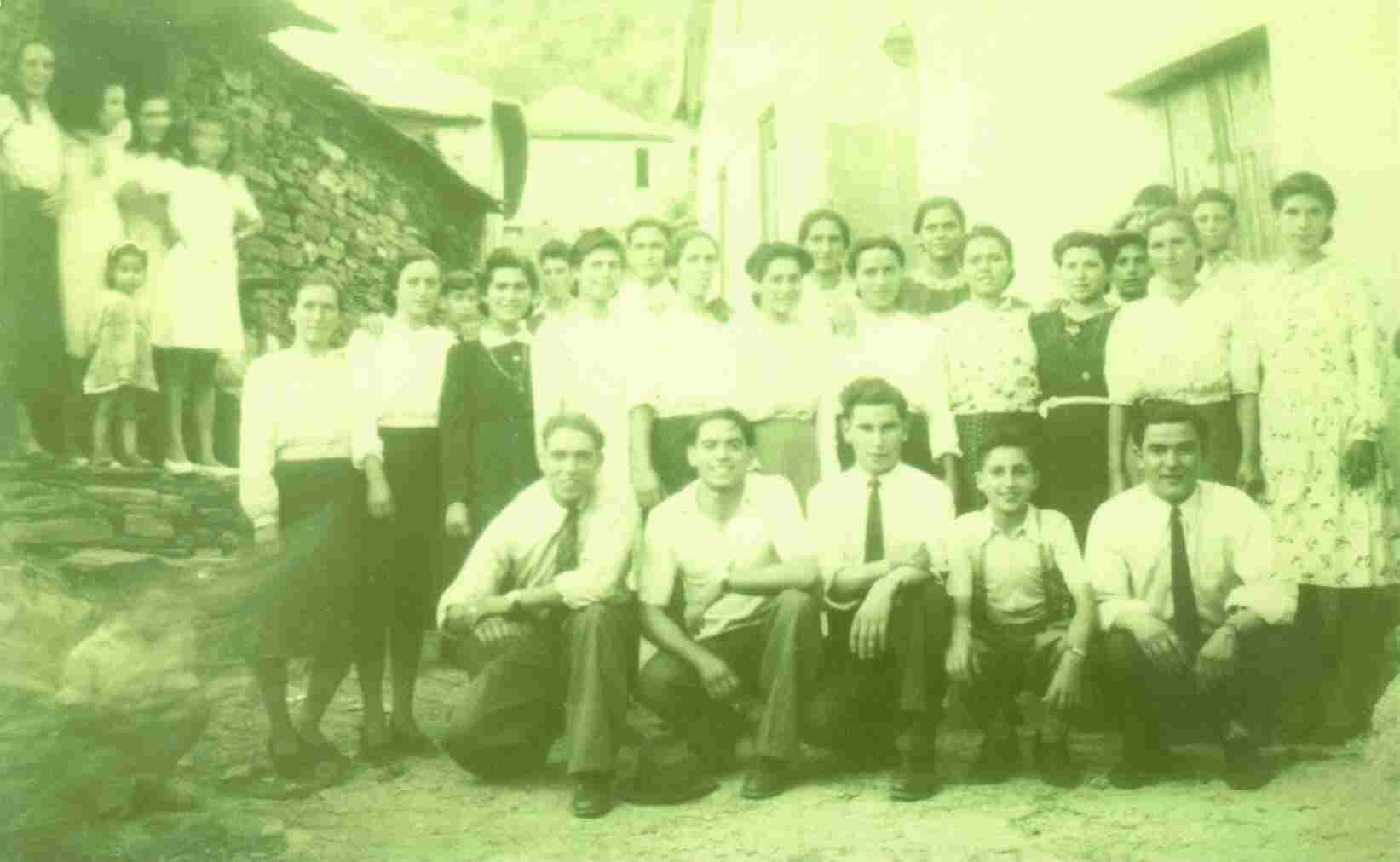 A juventude do Monte Frio no ano de 1947