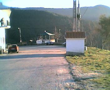 Largo do Outeiro visto de norte para sul na 6ªfeira, 31 de Dezembro de 2004