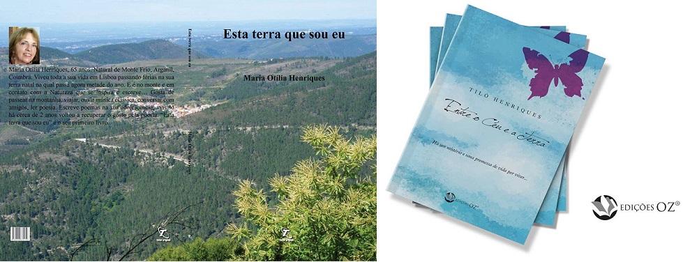 'Esta terra que sou eu' e 'Entre o Céu e a Terra' de Tiló Henriques