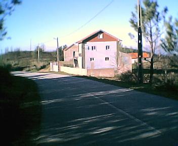 Casas na Lomba vistas de sul para norte no Sábado, 10 de Dezembro de 2005