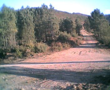 Malhada vista de oeste para este na Terça-feira, 13 de Dezembro de 2005