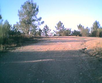 Malhada vista de sul para norte na Terça-feira, 13 de Dezembro de 2005
