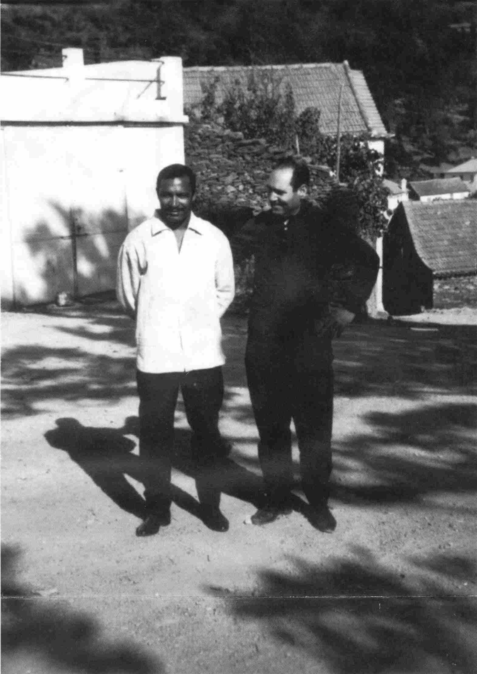 Mário Coluna em Monte Frio em Agosto de 1965