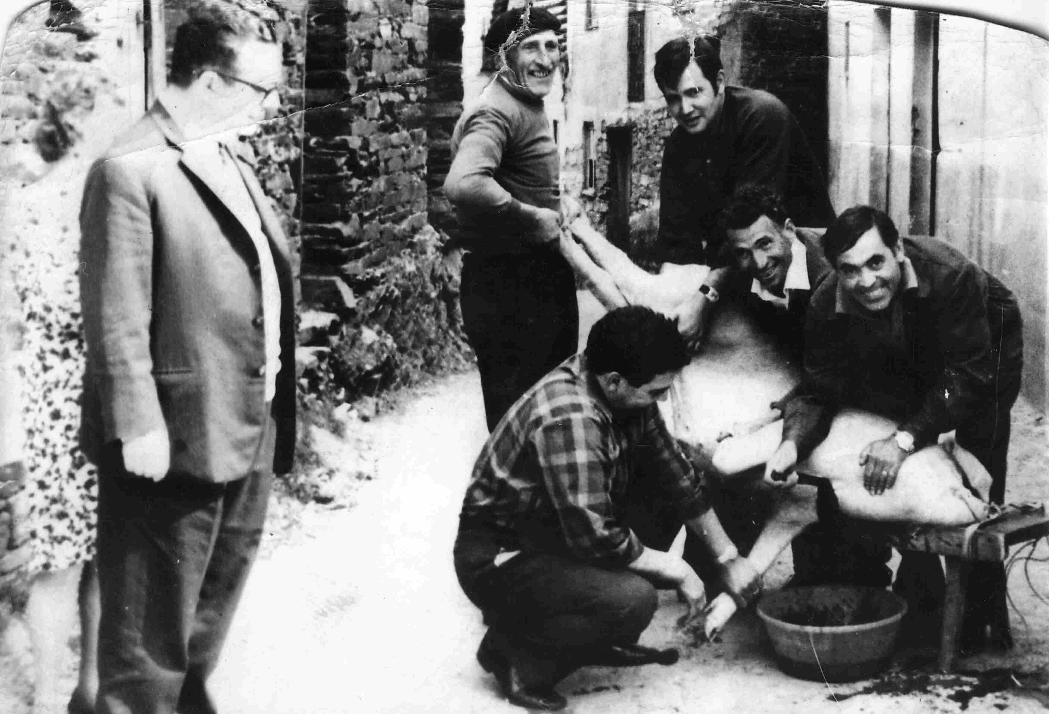 Matança do Porco em 1970