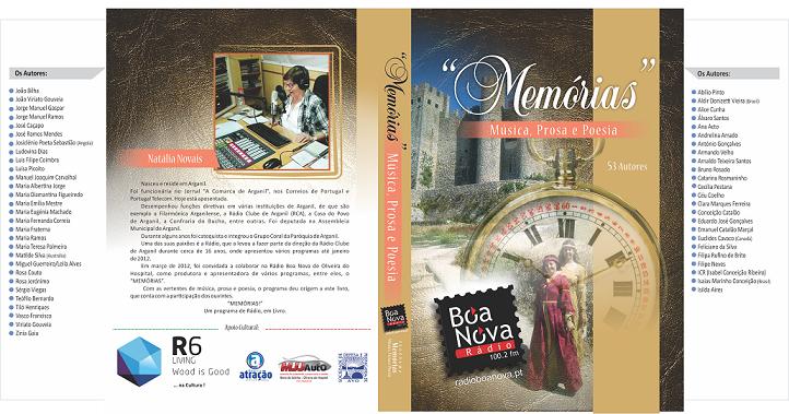 Livro <i>«Memórias - Música, Prosa e Poesia»</i>