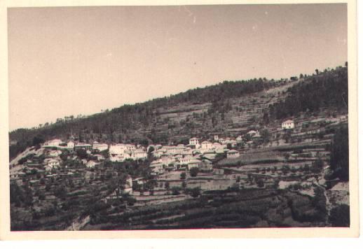 Antiga vista geral do Monte Frio no séc. XX