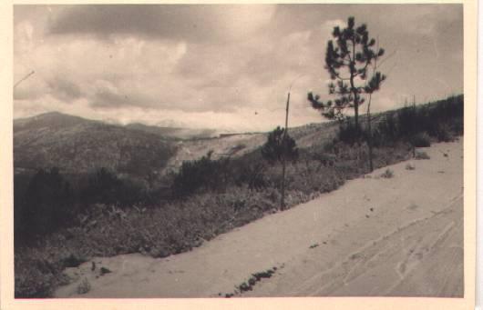 Antiga paisagem geral das serras a partir do formarigo no séc. XX