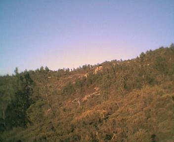 Paisagem do Monte Frio (geogr.) vista de oeste para este na Terça-feira, 14 de Março de 2006