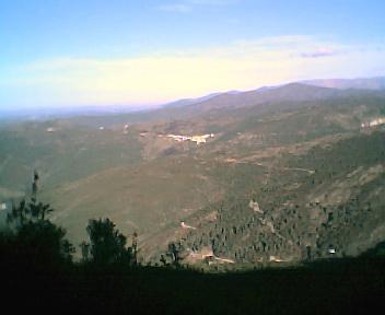 Monte Frio a partir do caminho que vai para a Deguimbra na Segunda-feira, 12 de Dezembro de 2005