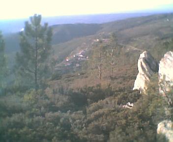 Monte Frio a partir do Monte Frio (geogr.) na Terça-feira, 14 de Março de 2006