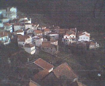 Monte Frio a partir do coreto no Sábado, 1 de Janeiro de 2005