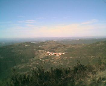 Monte Frio a partir do Monte da Picota na Segunda-feira, 12 de Dezembro de 2005