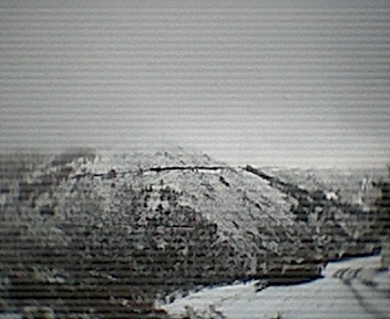 Montes ao pé dos Parrozelos vistos de norte para sul no Domingo, 30 de Novembro de 2008