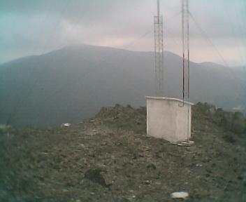 Paisagem a partir do pico de São Pedro do Açor vista de norte para sul na Quinta-feira, 16 de Março de 2006