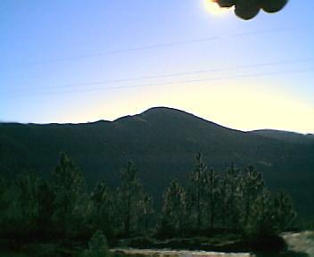 Paisagem a partir do pico do Monte Frio (geogr.) vista de nordeste para sudoeste no Sábado, 10 de Dezembro de 2005