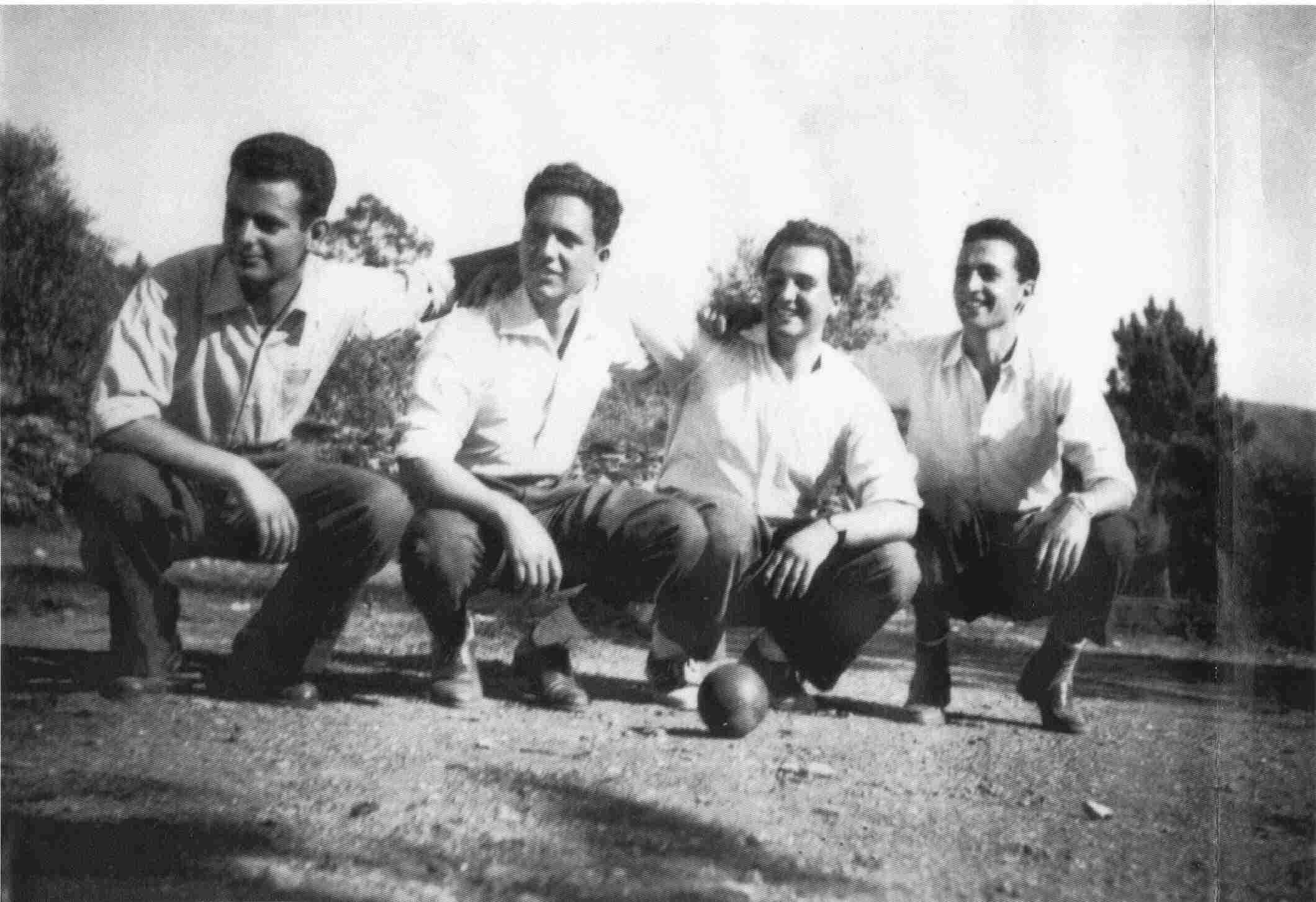 Os cinco violinos do Monte Frio em Agosto de 1965